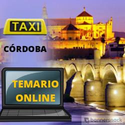 Temario Online Taxi Córdoba